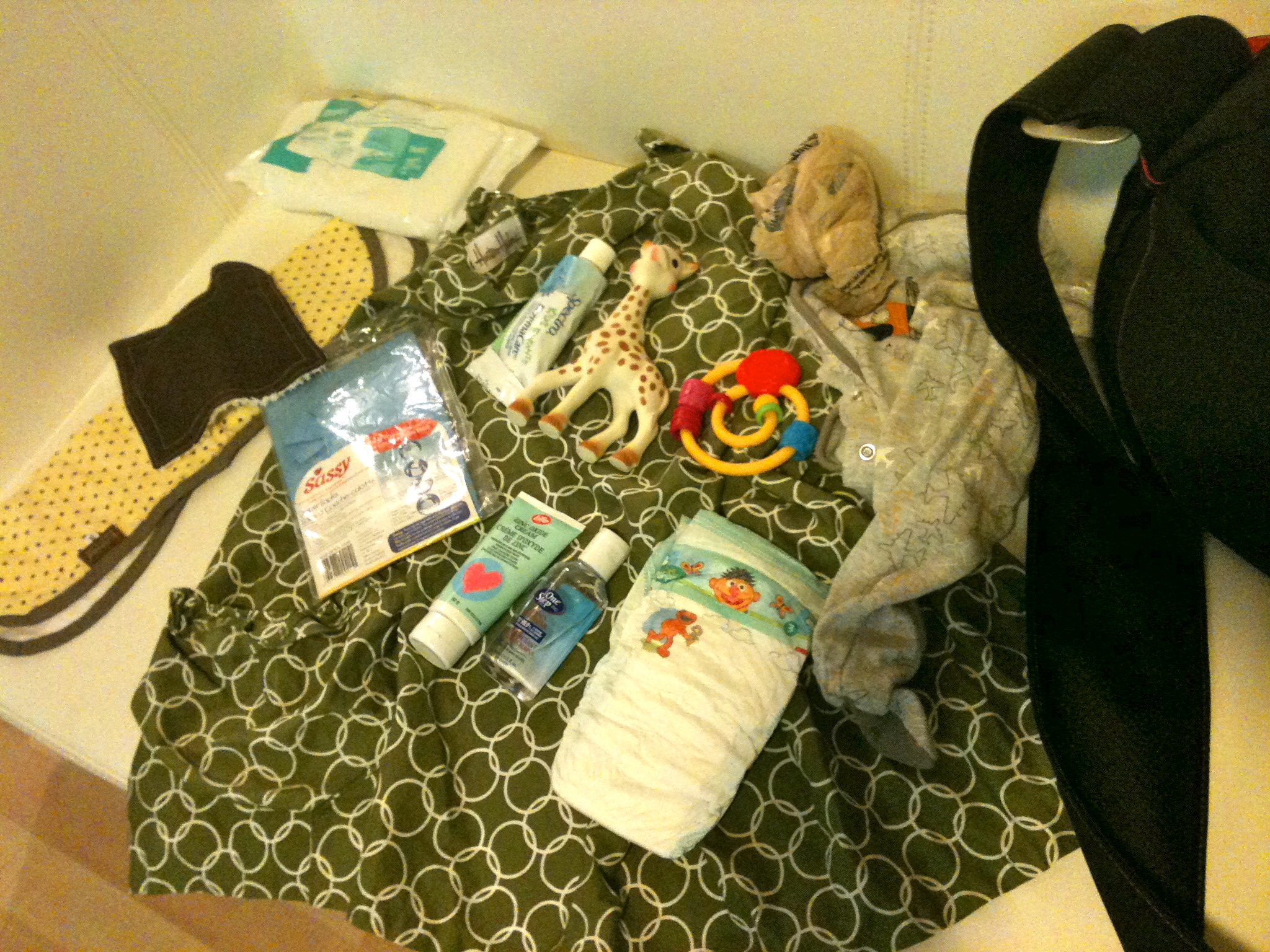 Diaper Bag Peek A Boo 4 Months Right Tools Baby